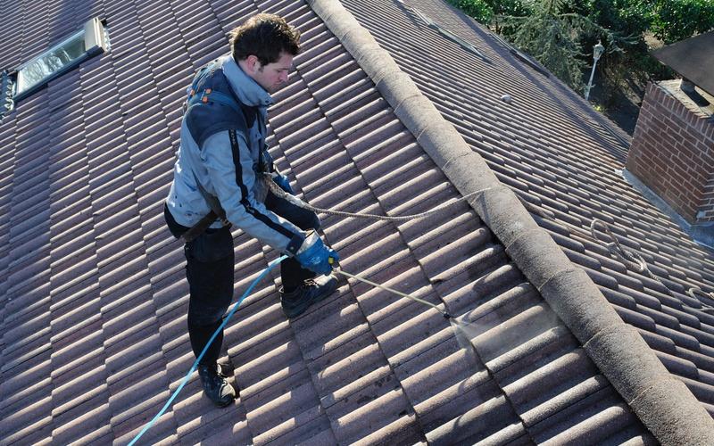 Impregneren van dakpannen