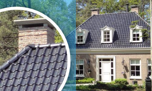 Keramische dakpannen reinigen